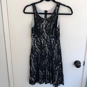 Daisy Shoppe Black Lace Dress